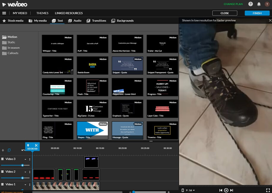 youtube channel create short video with wevideo dashboard