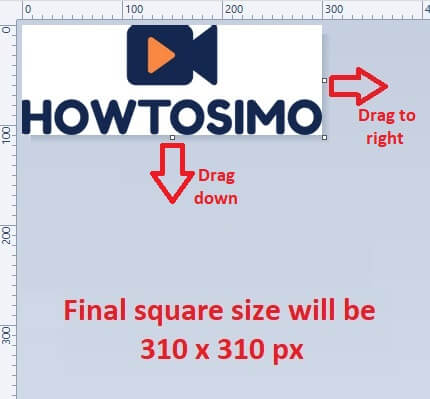 youtube channel editing channel logo size to 310 310 px