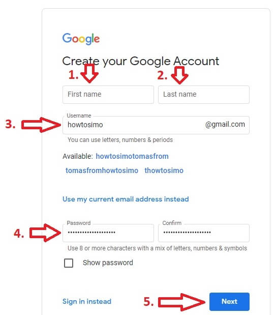 how to make youtube channel create account