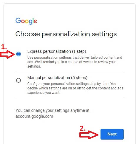 how to make youtube channel account personalization settings
